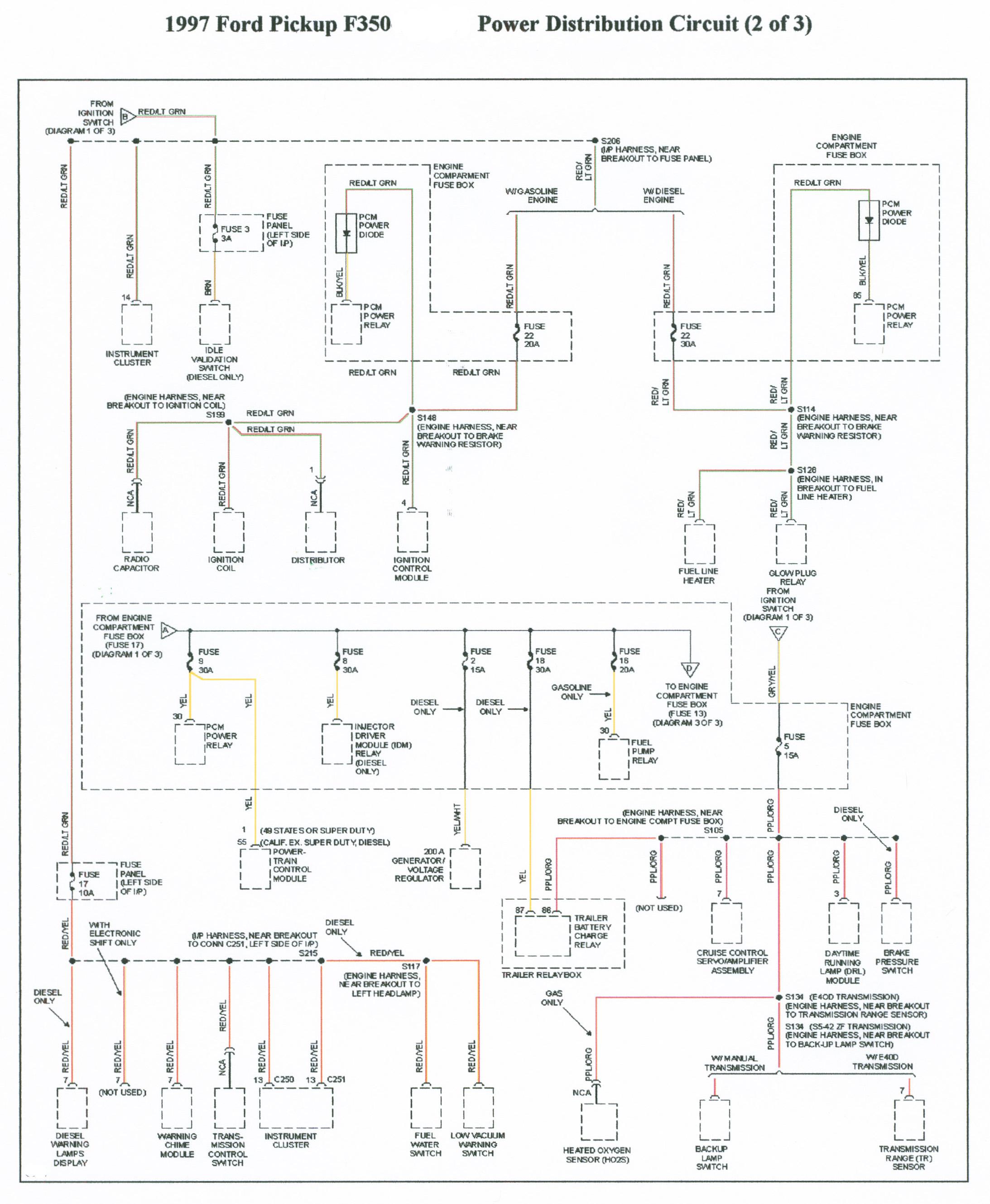 [FPWZ_2684]  no wait to start light | Ford Power Stroke Nation | 97 Powerstroke Glow Plug Wiring Diagram |  | Ford Power Stroke Nation