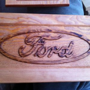Carved Ford