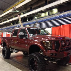 Texas Trophy Hunters Association Show in the Alamodome in San Antonio