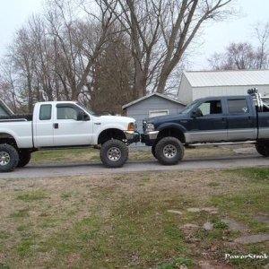 MY BUDDYS TRUCK AND MINE