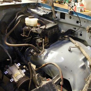 Engine compartment update 1
