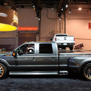 The Pit Boss debuted at SEMA 2010 in Las Vegas, NV.