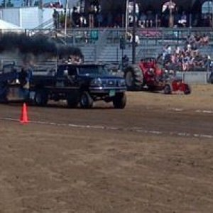Rollin' Coal at the Truck Pull.